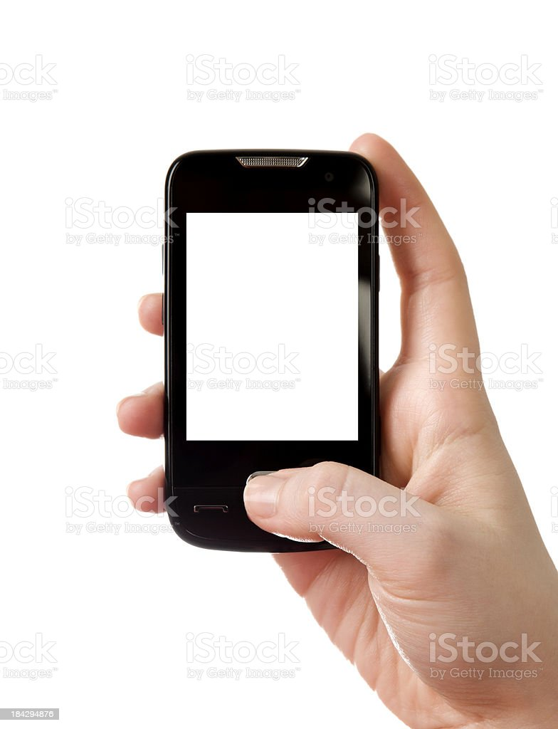smart mobile phone royalty-free stock photo