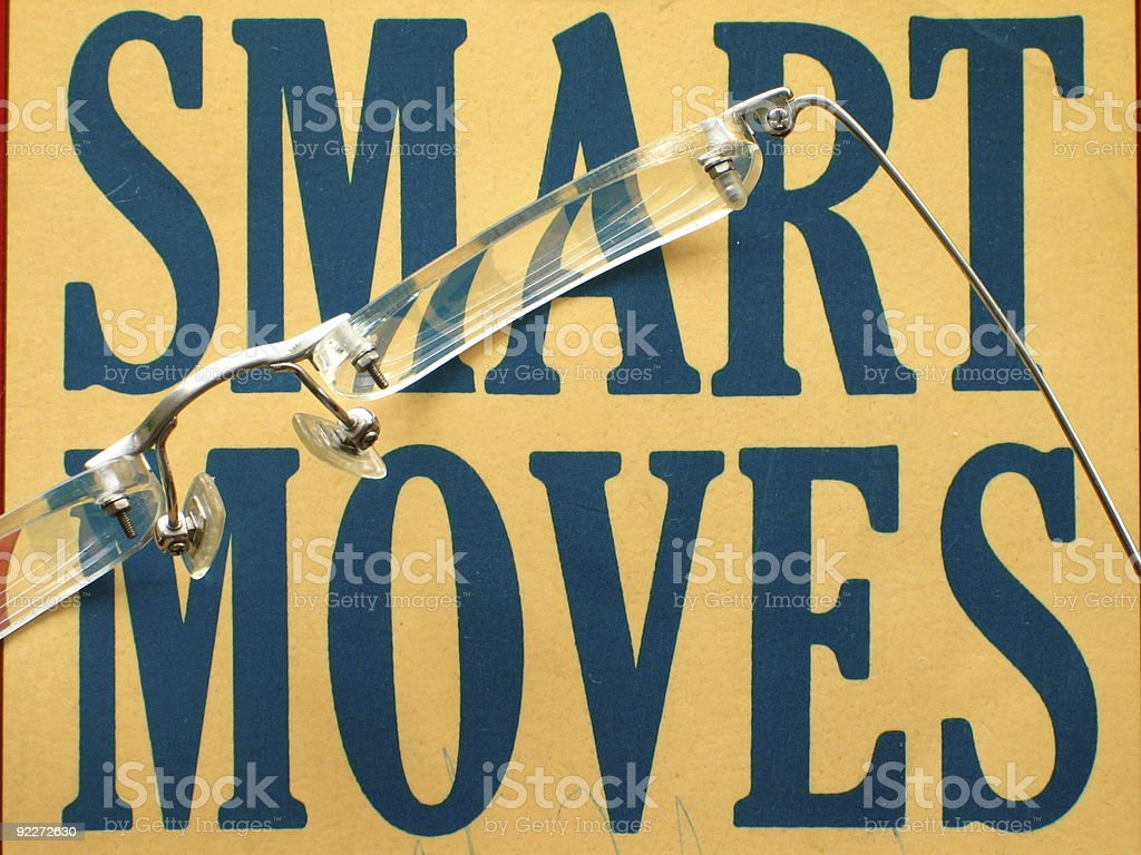 Smart Moves royalty-free stock photo