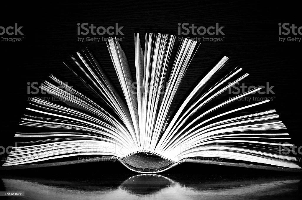 smart open book art stock photo