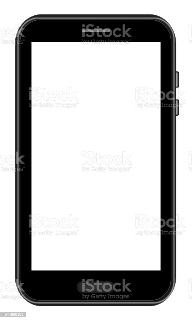 Smart Phone - Black Color stock photo