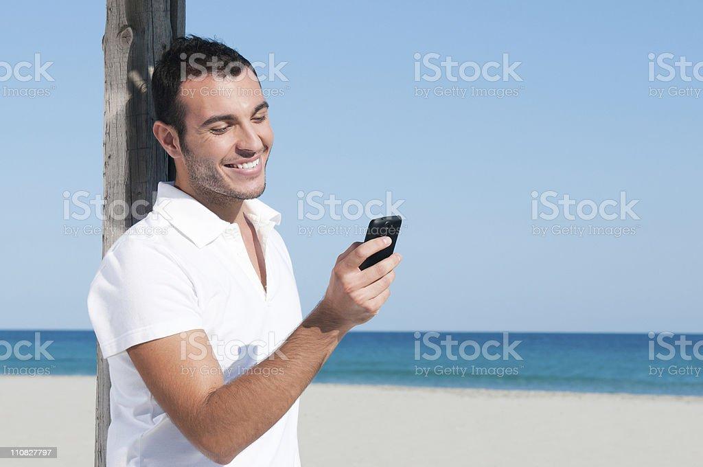 Smart phone communication royalty-free stock photo