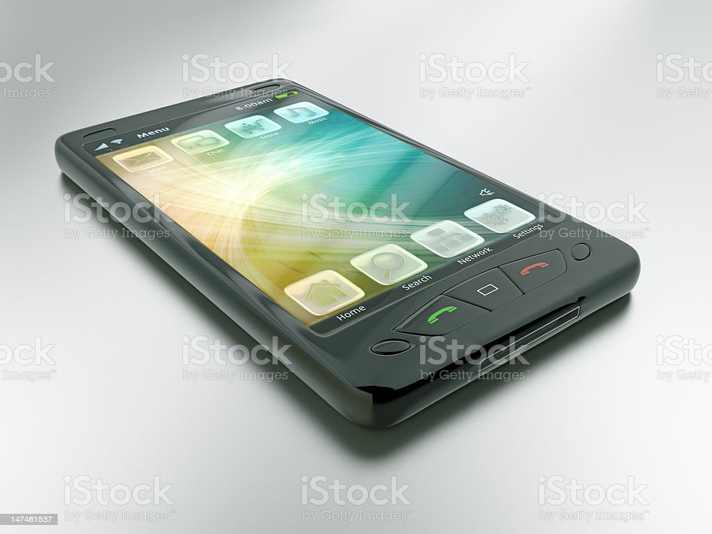 Smart Phone royalty-free stock photo