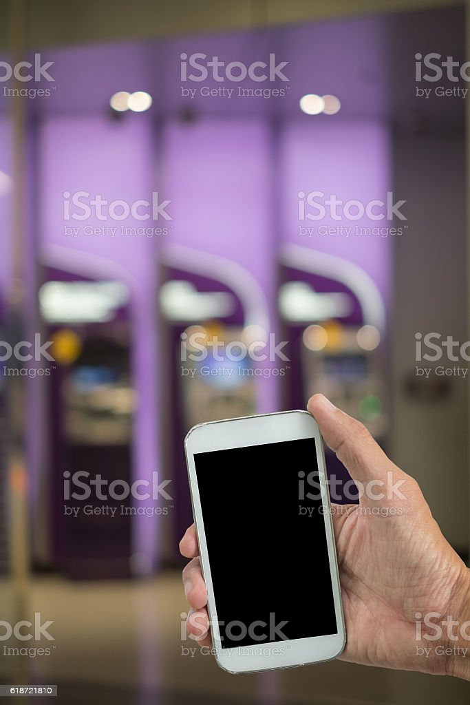 Smart phone to do business. stock photo