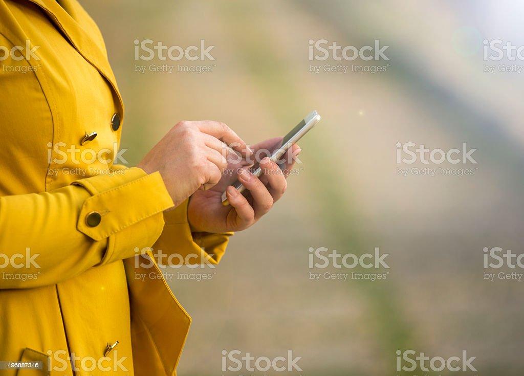 Smart Phone using stock photo