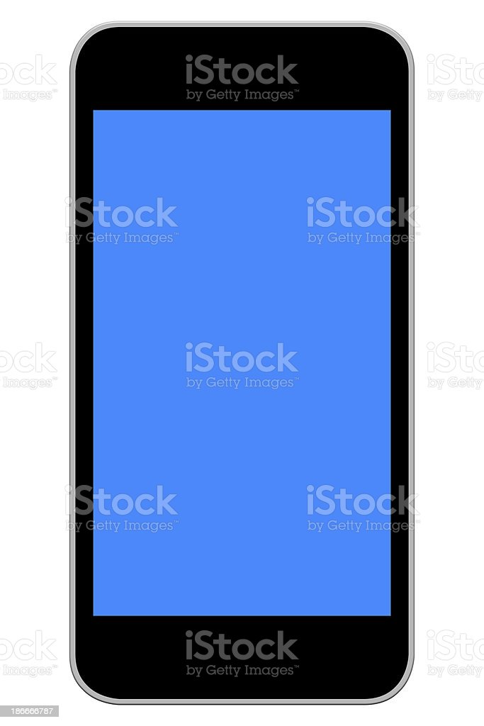 Smart Phone With Blank Screen royalty-free stock photo