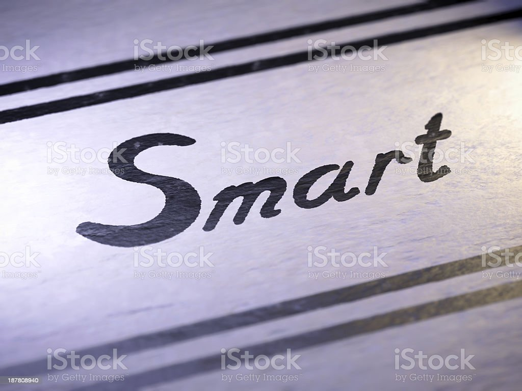 Smart royalty-free stock photo