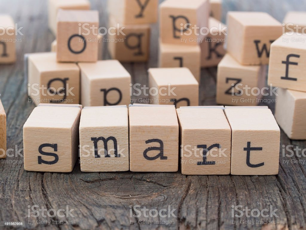 Smart stock photo