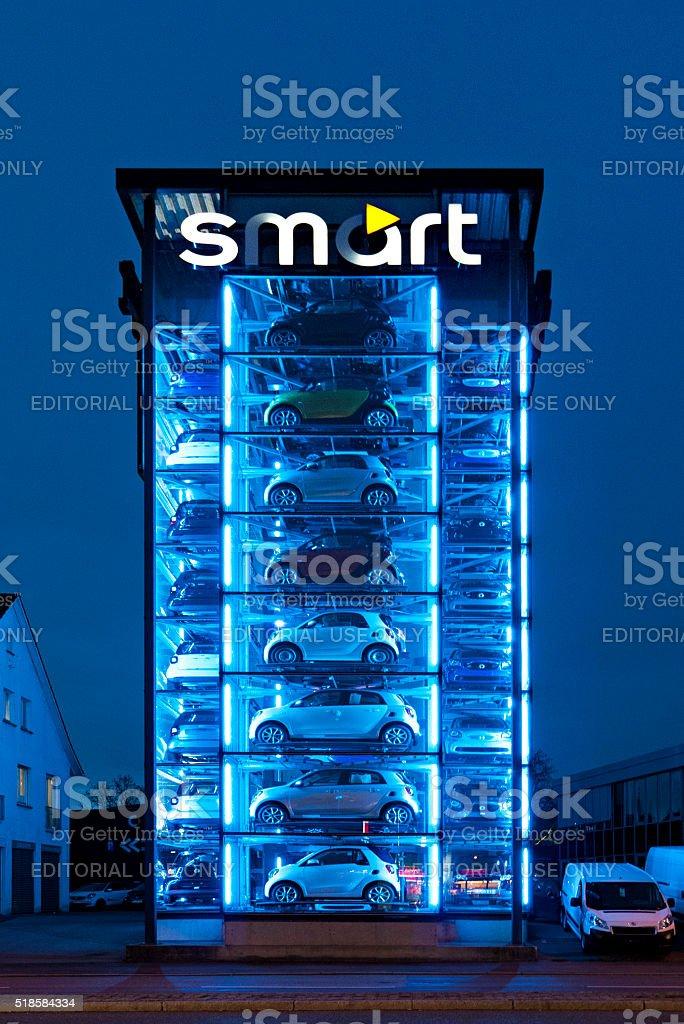 Smart Tower stock photo