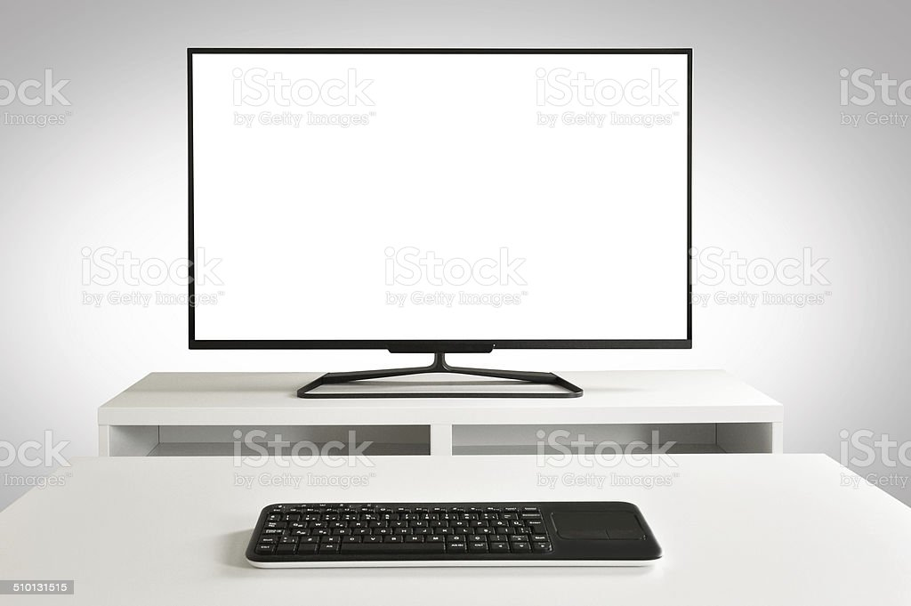 Smart TV (Click for more) royalty-free stock photo