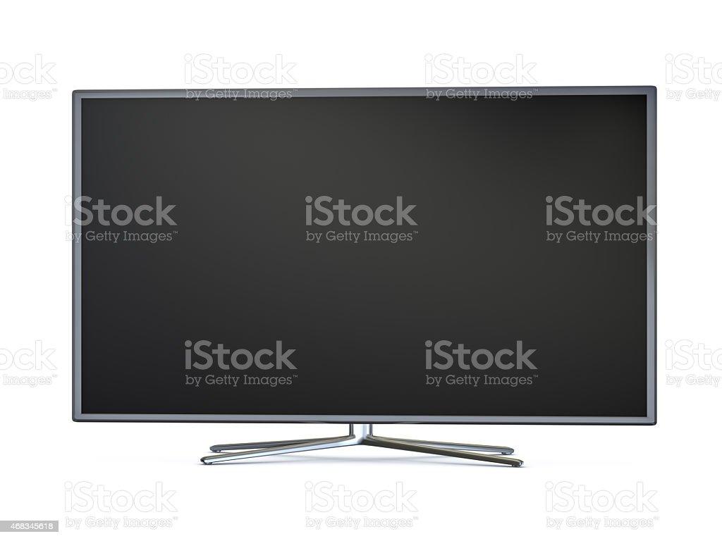 Smart tv widescreen led tv (XXXL) stock photo