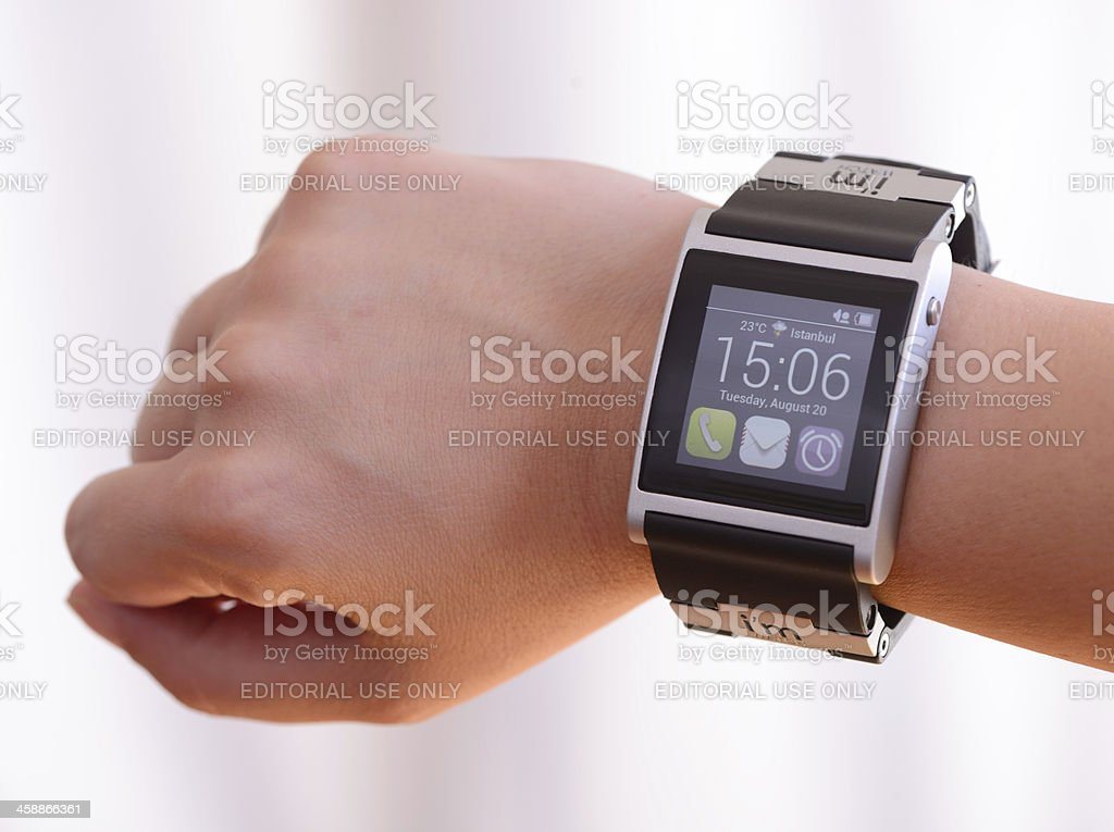 Smart watch royalty-free stock photo
