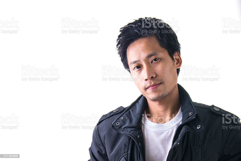 Smart Young Asian Man royalty-free stock photo