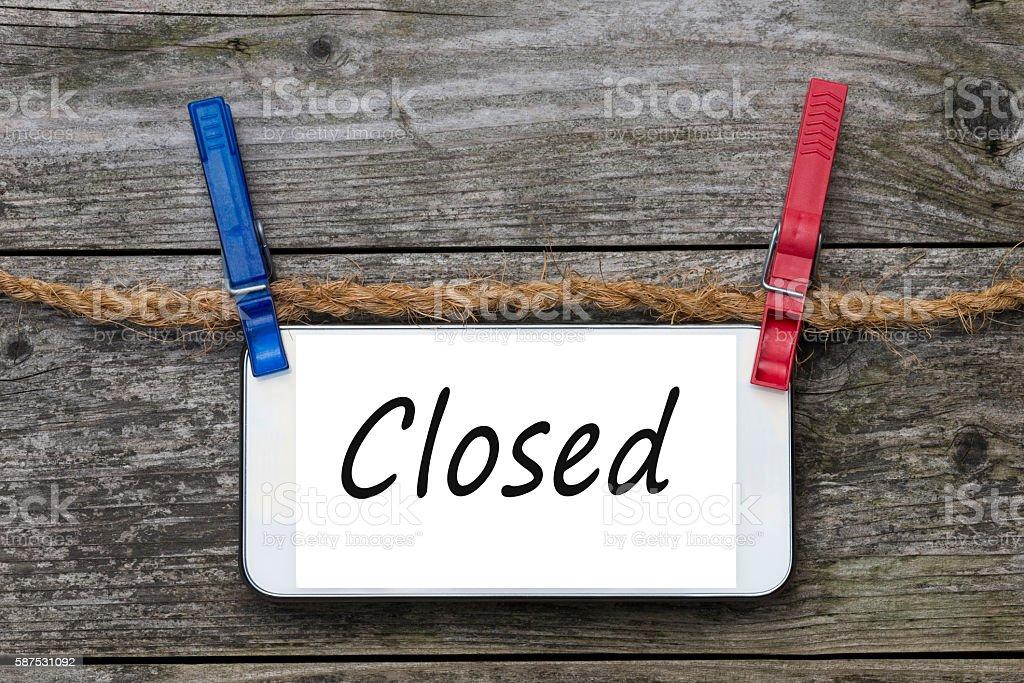 Smartphone - Closed stock photo