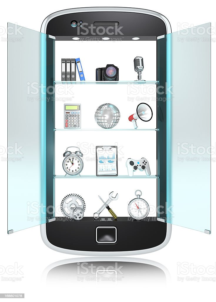 Smartphone. royalty-free stock photo
