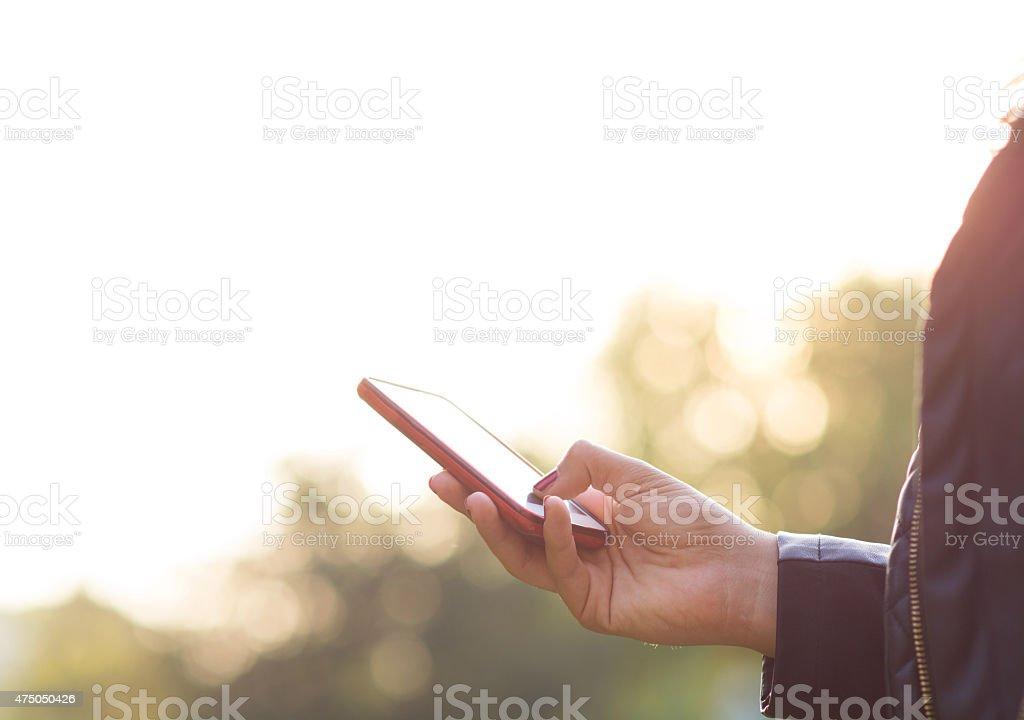 Smartphone stock photo
