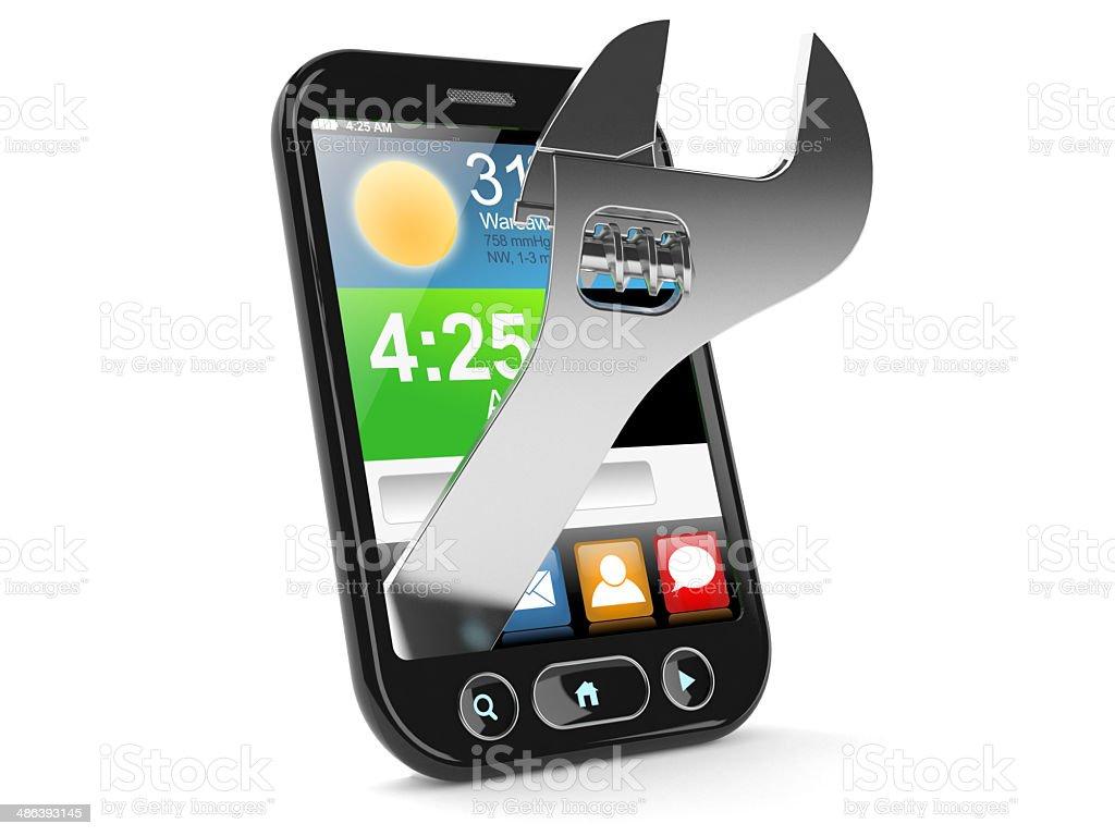 Smartphone royalty-free stock photo