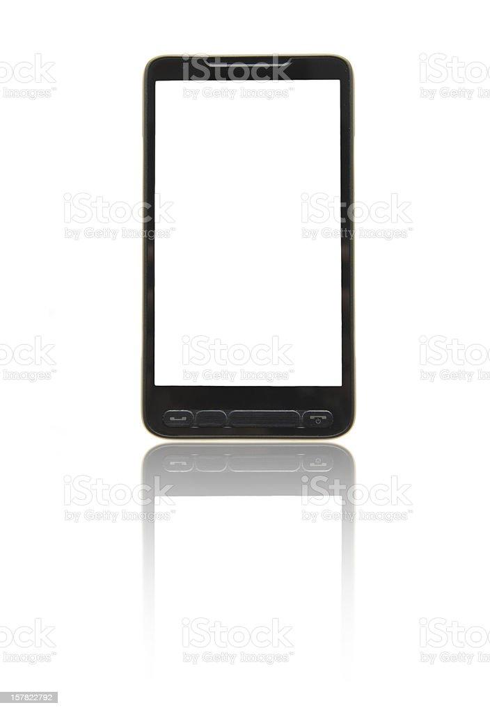 Smartphones Blank Screen royalty-free stock photo