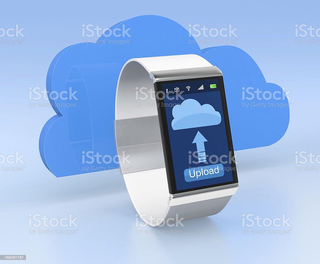 smartwatch royalty-free stock photo