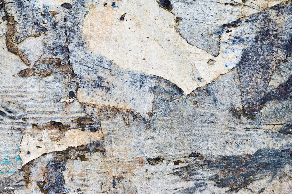 smashed papers stock photo