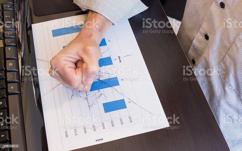 Smashing Graph stock photo