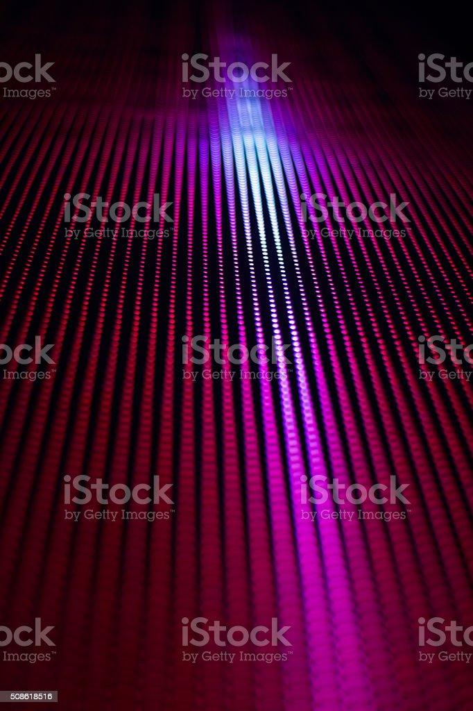 smd led line display stock photo