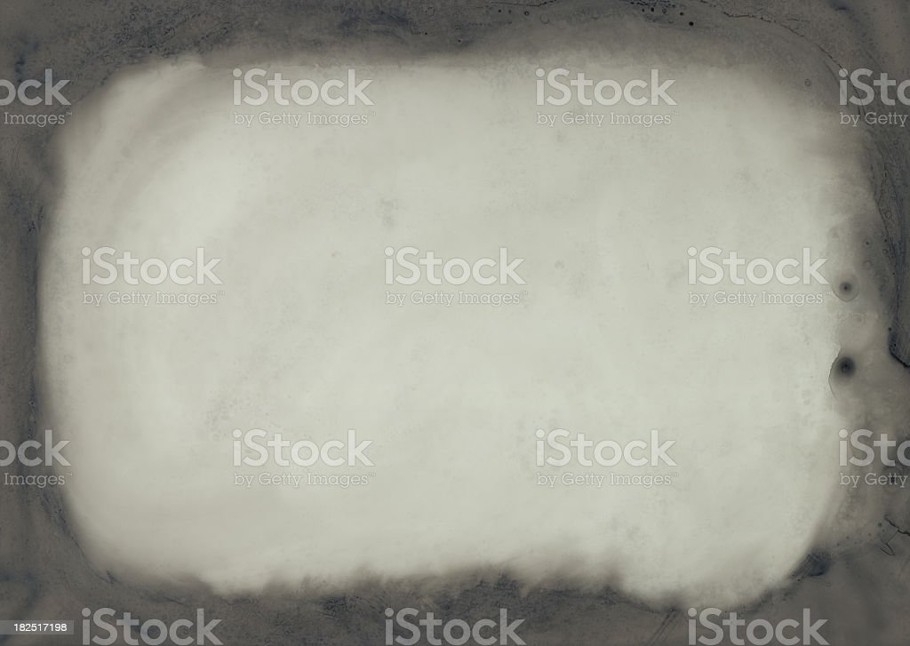 Smeared Dirty Glass Vignette Frame background royalty-free stock photo