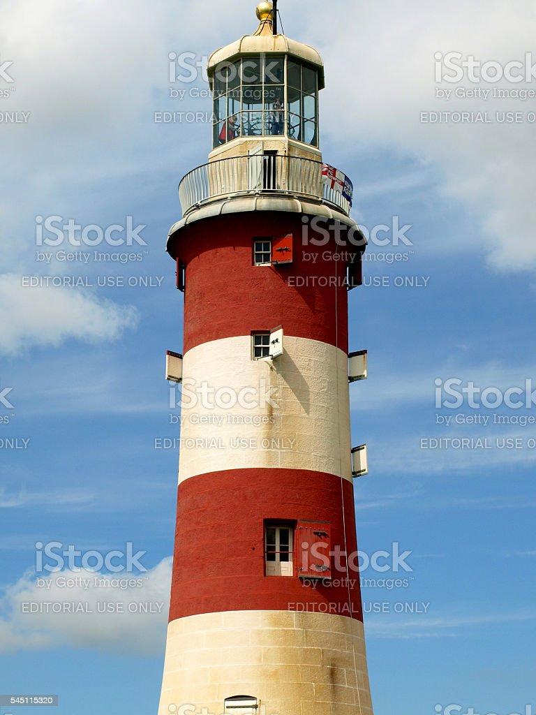 Smeaton's Lighthouse. stock photo