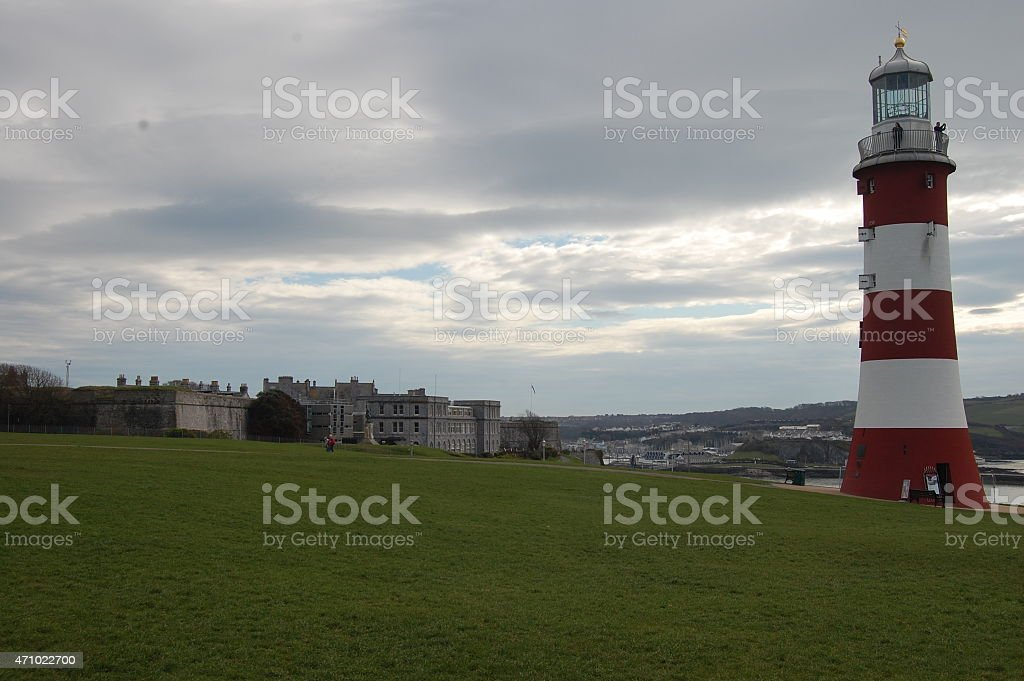 Smeatons Tower royalty-free stock photo