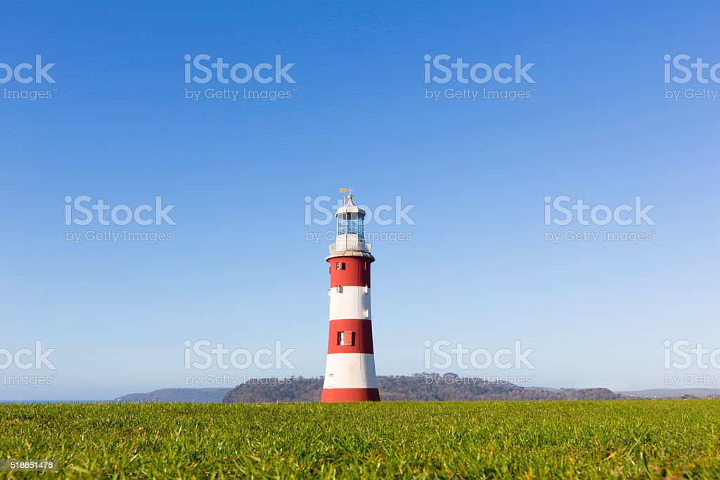 Smeaton's Tower - Plymouth stock photo