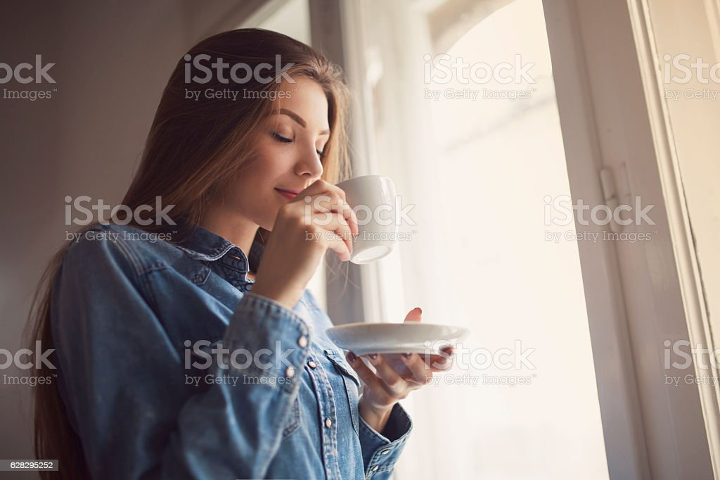 Smell that permeates stock photo