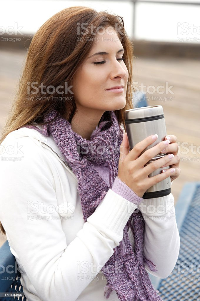 Smell the Coffee royalty-free stock photo