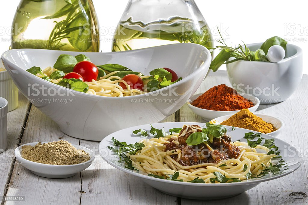 Smells of Italian cuisine royalty-free stock photo