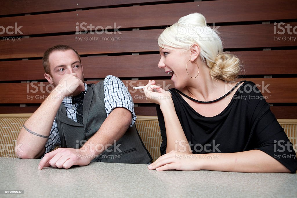 Smelly Date royalty-free stock photo