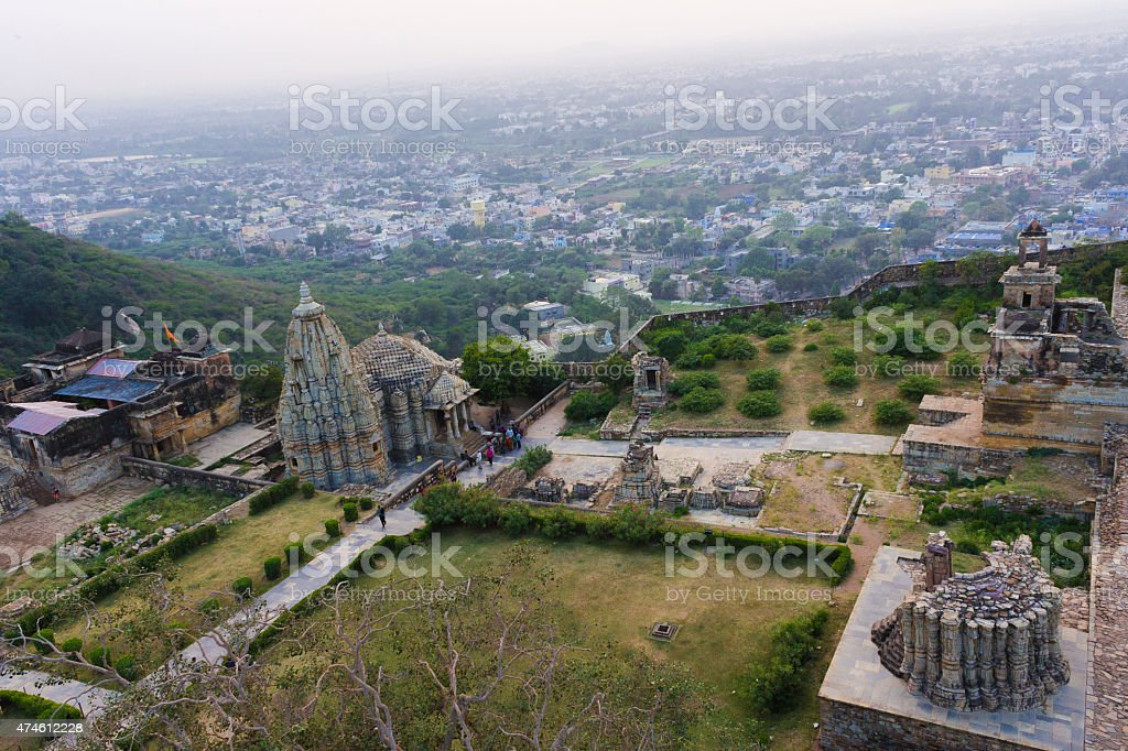 Smidheshwar Mahadev Temple, Mokalji Temple, Chittorgarh Fort, Rajasthan , India stock photo