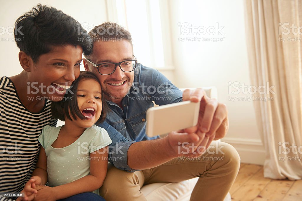 Smile baby! stock photo