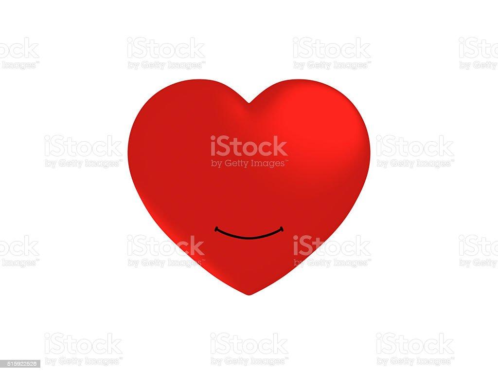 smile heart stock photo
