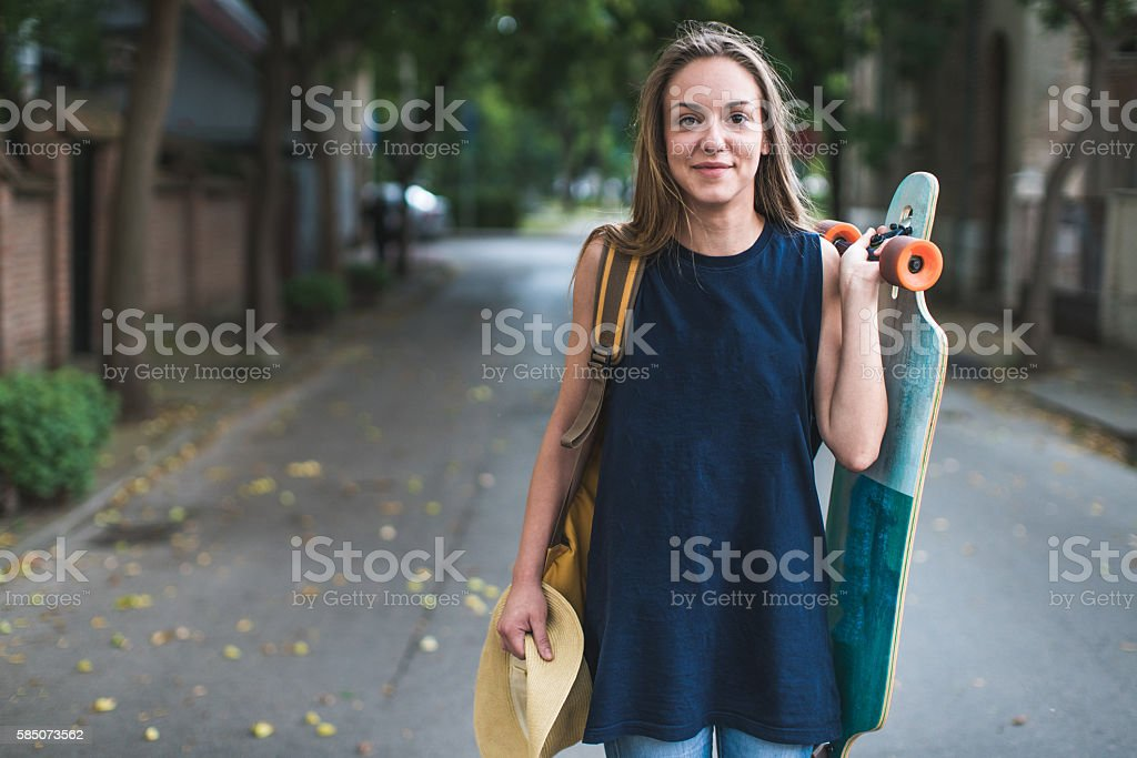 Smile It's going to be fun stock photo
