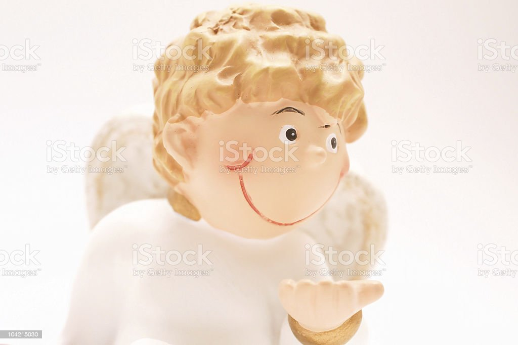 smile of an angel... royalty-free stock photo