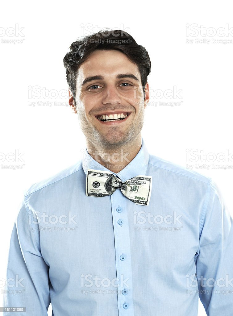 Smile of success royalty-free stock photo