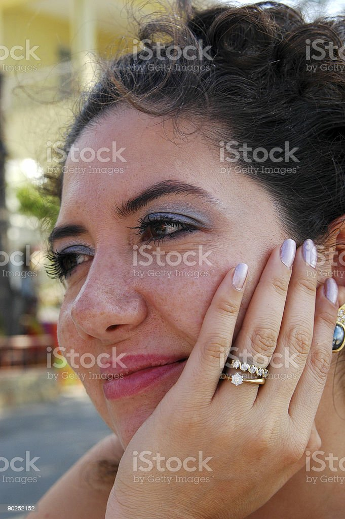 smile on face royalty-free stock photo