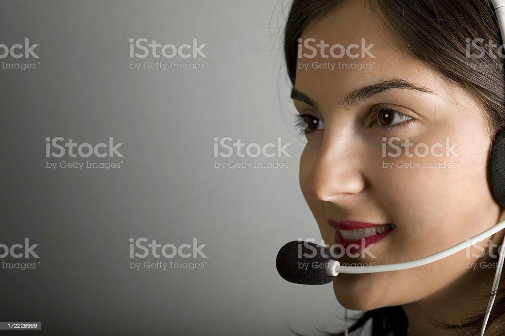 Smile Operator royalty-free stock photo