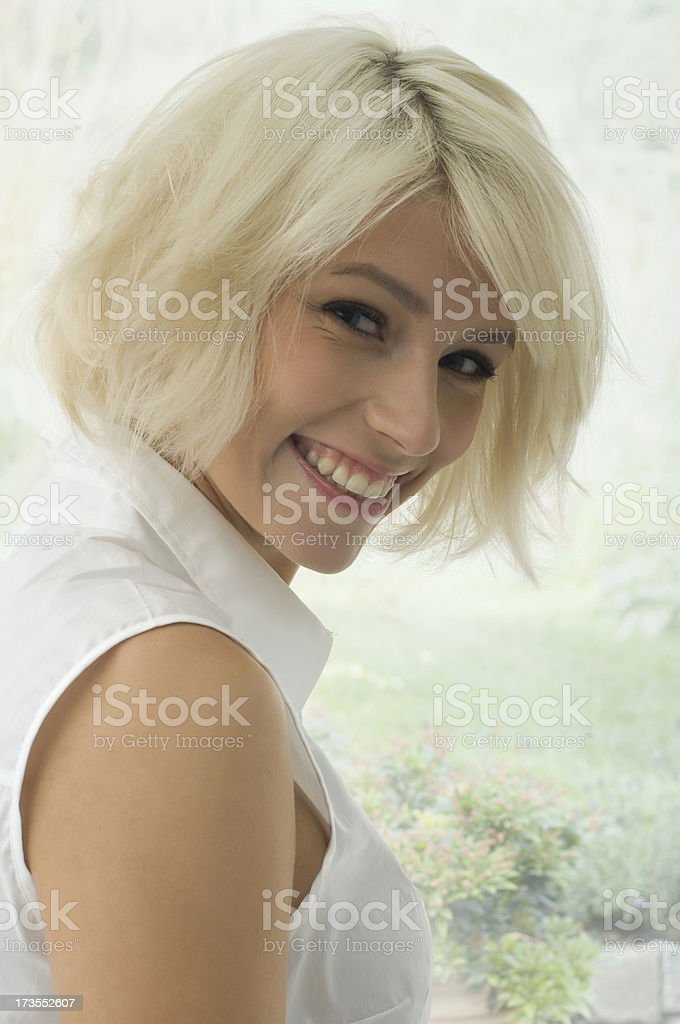Smile stock photo