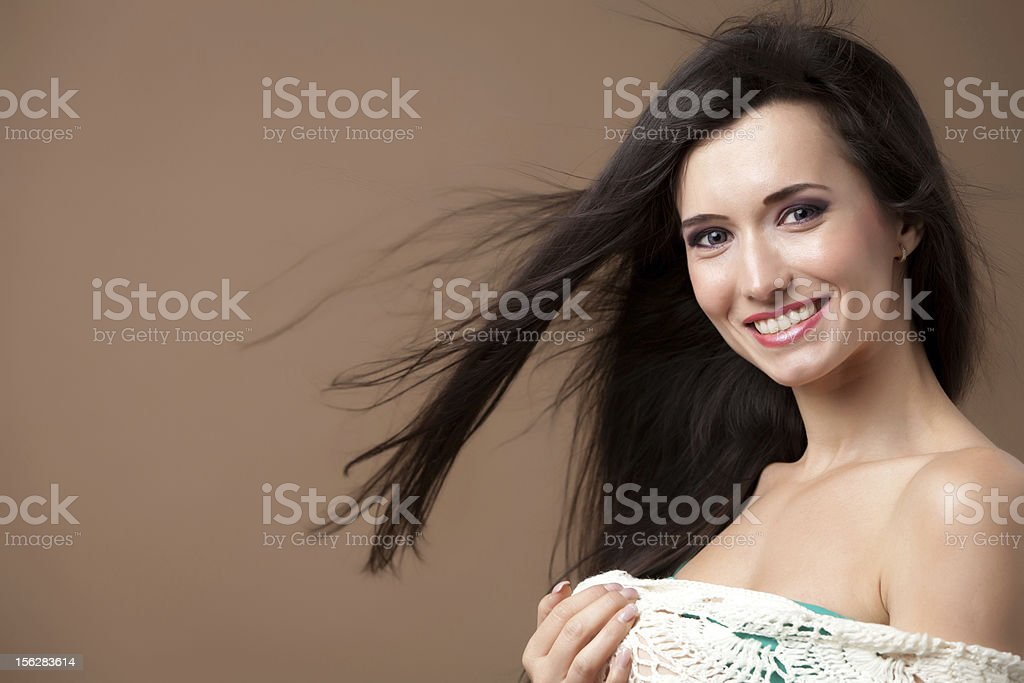 Smile to the camera! royalty-free stock photo