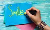 Smile word Inspirational