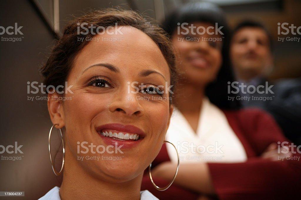 Smiles royalty-free stock photo