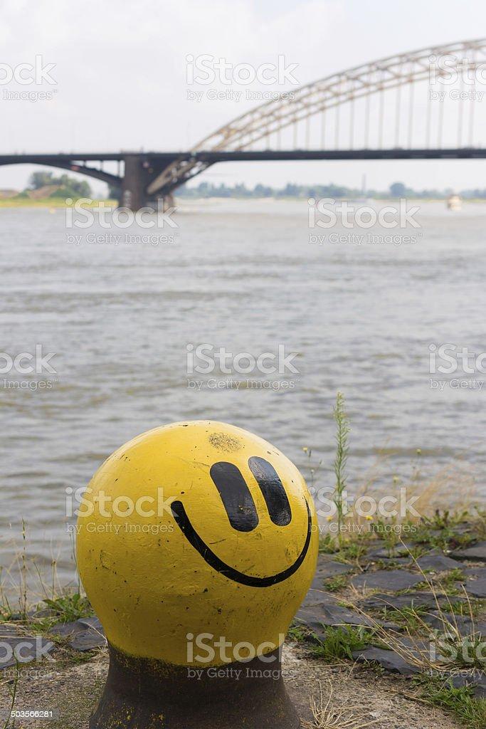 smiley Bolder stock photo