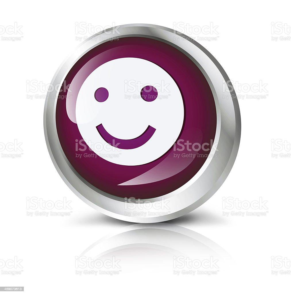 Smiley icon royalty-free stock photo