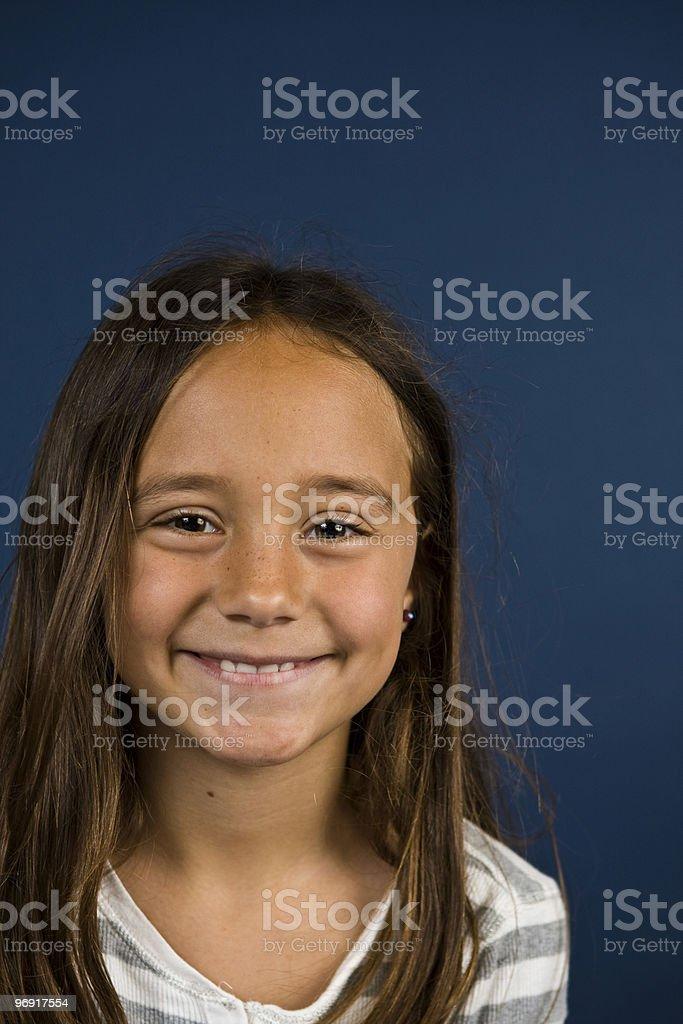 Smiley stock photo