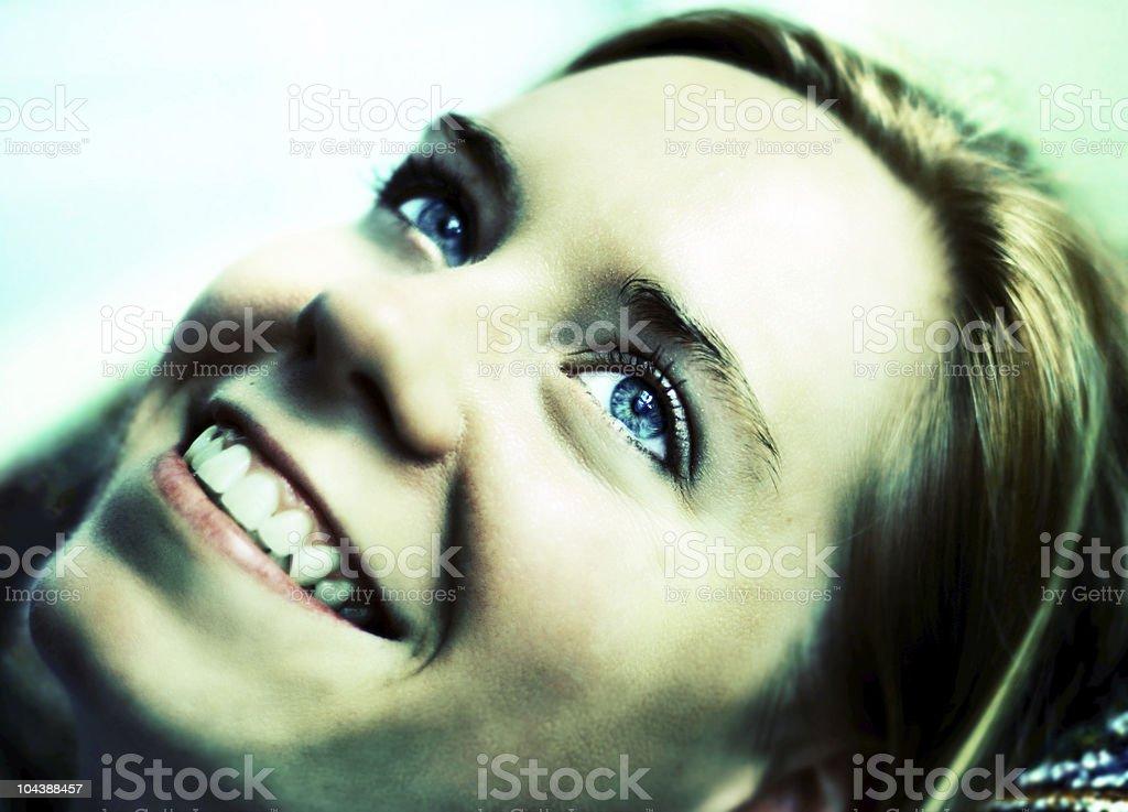 Smiling 2 royalty-free stock photo