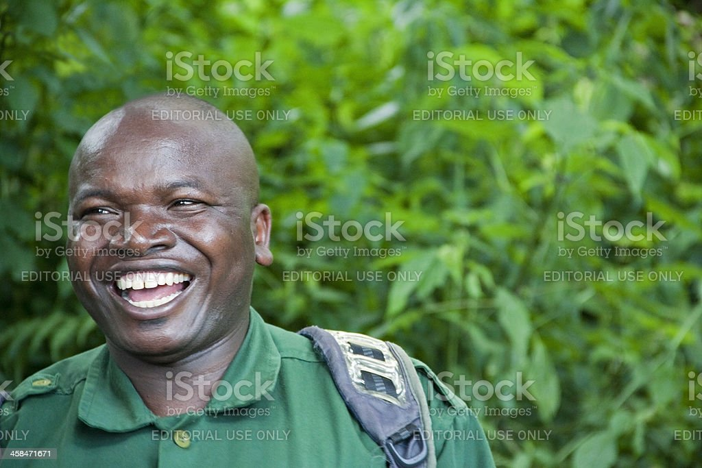 Smiling African Man royalty-free stock photo
